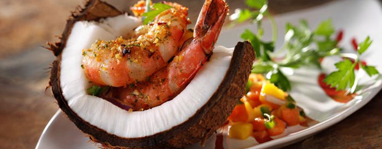 Jamaican Peppered Shrimp